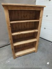 RECLAIMED 5' X 3' BOOKCASE HAND MADE RUSTIC BESPOKE SIZES COLOURS