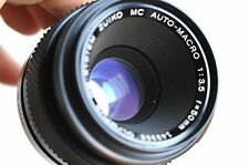 OLYMPUS OM-System Zuiko MC Auto-Macro  50mm f/3.5   Macro Lens    * Good/Read *
