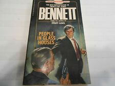 People in Glass Houses by Elliot Lewis (1981, Paperback) Pinnacle Books, 1st Ed.