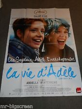 BLUE IS THE WARMEST COLOR (LA VIE D'ADELE) - ORIGINAL HUGE FRENCH POSTER