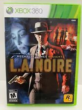 L.A. NOIRE (BILINGUAL) (XBOX360) Tested & Complete!
