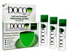 DocoShield Cold Sore Prevention Lip Balm Now With L-Lysine