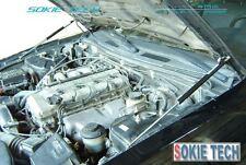 95-01 Honda CR-V CRV SUV Engine Hood Gas Lift Shock Black Strut Shock Damper Kit
