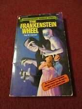 The Frankenstein Wheel by Paul W. Fairman (1972, paperback) horror series