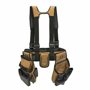 Leather Tools Belt Tool Pouch New Scaffolding Heavy Duty Pouch 4 Pocket 0040
