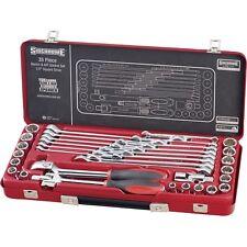 Sidchrome 35 Piece Socket / Spanner Set
