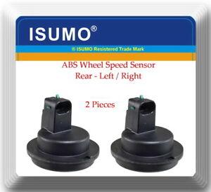 2 x ABS Wheel Speed Sensor Rear LH & RH Fits: Cadillac Deville 00-05 DTS 06-11