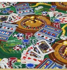 MENS WAISTCOAT - HANDMADE TO FIT YOU  - CASINO - GAMBLING -CROUPIER -FABULOUS !!