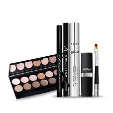 Makeup Kit Eyebrow Pencil Eyeshadow Lip Gloss Eyelashes Mascara Tool Gift Set