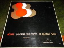 COFFRET CLASSIQUE DE 8 33T   MOZART QUATUORS POUR CORDES LE QUATUOR PASCAL