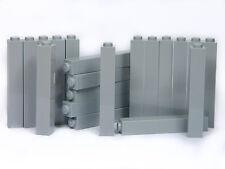 Briques Lego 1x1x5 x20 panneaux # Light Gris Pierre Pilier Colonne murs Château