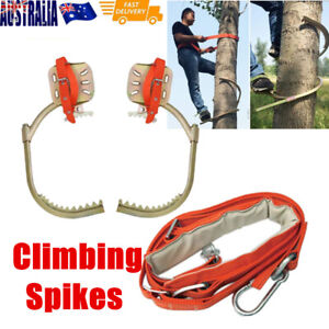 Safety Tree Climbing Spike Buckle Set Survival Hunting Climbing Tool Safety Belt
