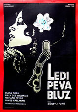 LADY SINGS BLUES 1972 DIANA ROSS BILLY DEE WILLIAMS S. FURIE EXYU MOVIE POSTER