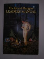 The Royal Rangers Leaders Manual 1983 Book Johnnie Barnes Men's Rare Handbook