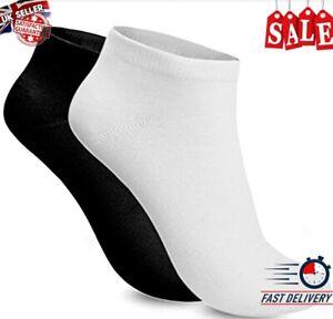 WInter Ankle Socks 6 Pairs Mens Kids Cotton Low Cut Short Gym Trainer Socks