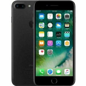 "Apple iPhone 7 Plus 5.5"" 128GB Matte Black 4G LTE GSM UNLOCKED Smartphone"