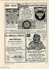 1963 ADVERT Lindy Sue Ida Bell Mollye Doll Dolls All Nations Vinyl