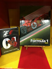 2004 FORMULA 1 OFFICIAL DVD & BOOK SEASON REVIEW MICHAEL SCHUMACHER AND FERRARI