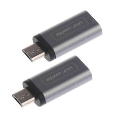 2X Micro USB 3.0 to USB Type C Connector Sync Data Charger Adapter Converter