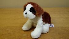 "7"" St. Bernard, Dog, Plush Toy, Beanbag, Stuffed Animal, Ganz"
