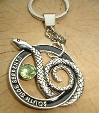 RIVERDALE SOUTH SIDE SNAKE SERPENTS KEYRING KEYCHAIN IN GIFT BAG TEEN US DRAMA
