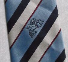 Da Uomo Cravatta club associazione VINTAGE CON LEONE ALATO DA maccravats Crested Blu