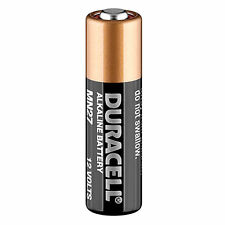 Duracell MN27 LR27 A27 Battery for Car Key Fobs, Garage Door Remotes  EXP 2021