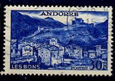 ANDORA STAMPS, #154 USED, CV 35 EURO