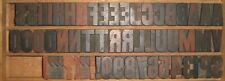 Big Print Letterpress Block Wooden Type Letters Symbols