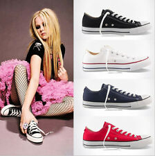 Fashion Women Sneaker Low Top ALL STAR Chuck Taylor Canvas Athletic Shoes