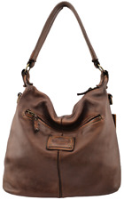 Borsa a sacca in pelle vintage Bayside 84 made in Italy art BS 294 mini Rock