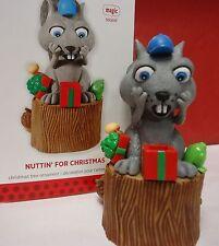Hallmark 2013 Nuttin For Christmas Squirrel Ornament New in Box