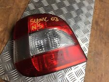 Renault Scenic Rear Light Unit N/S Passenger Rear Left - 99 > 03