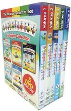 Alphablocks Box Set Volume 1 2 3 4 5 Region 2 DVD New (5 Discs)