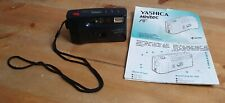 Yashica Minitec AF 35mm Film Camera Lomography with instructions vgc