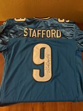 MATT STAFFORD SIGNED AUTO DETROIT LIONS REEBOK NFL EQUIPMENT Jersey NWT Size 48
