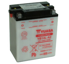 Batterie Yuasa moto YB14L-A2 PIAGGIO Nexus 500cc. -