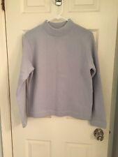 j crew Fleece Lined Wool Sweater Size Small