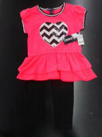 NWT Gymboree Leggings Girls Neon Coral many sizes