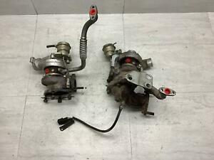 91-99 Mitsubishi 3000GT VR-4 Turbochargers - 1 Impeller Stuck
