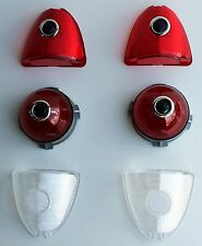 1953 Chevrolet Chevy CAR Red DOUBLE BLUE DOT Tail Light Kit - 6 PC Bel Air NEW