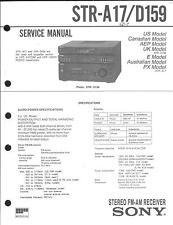Sony Original Service Manual für STR-A 17 / D 159