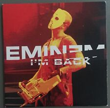 EMINEM - I'M BACK - FRENCH FRANCE CD SINGLE 2 TRACKS RARE CARDSLEEVE