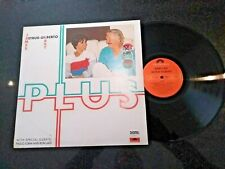 "JAMES LAST / ASTRUD GILBERTO ""PLUS"" 1986 LP (PAULO JOBIM)"
