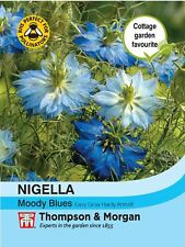Thompson & Morgan - Flowers - Nigella Moody Blues - 200 Seed