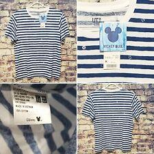 Uniqlo x Disney:Mickey Blue Collection Blue/White Color Women's Medium Top~NWT