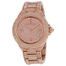 Michael Kors Camille Rose Gold Tone Pave Glitz Ladies Watch MK5862