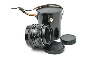 Carl Zeiss Jena MC Pancolar 1.8/50 lens M42 mount S/N 15587