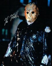 Kane HODDER SIGNED Autograph 10x8 Photo D AFTAL COA Jason VOORHEES Friday 13th