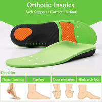 High Arch Support Plantar Fasciitis Orthotic Inserts for Flat Feet Pronation pad